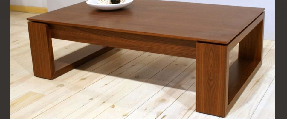Coffee table with waiter