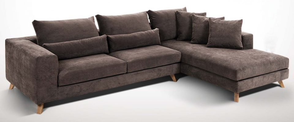 Καναπέδες με ξύλινα πόδια