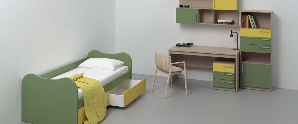Μοντέρνο παιδικό κρεβάτι