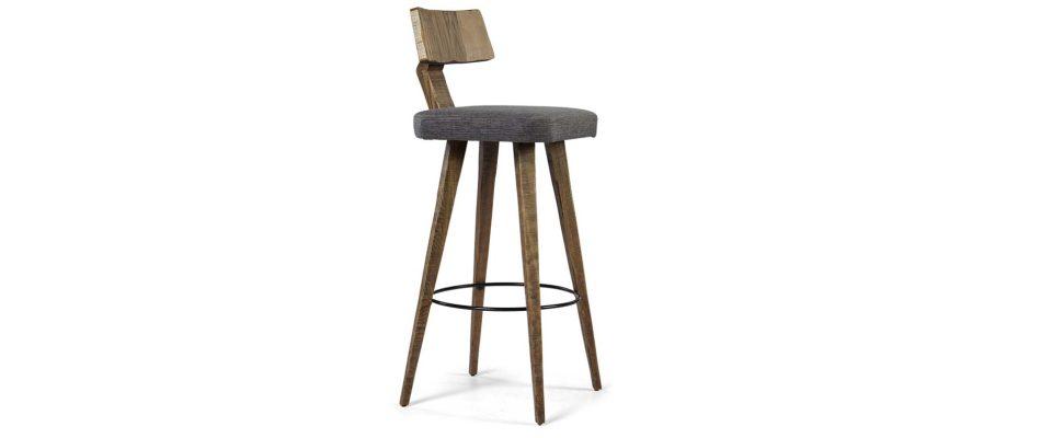 Σκαμπό Bar ξύλινο
