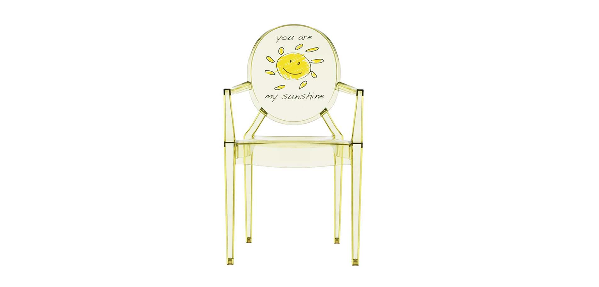 Lou Lou Ghost children\'s chair Kartell | Έπιπλο - Φωτιστικό ...
