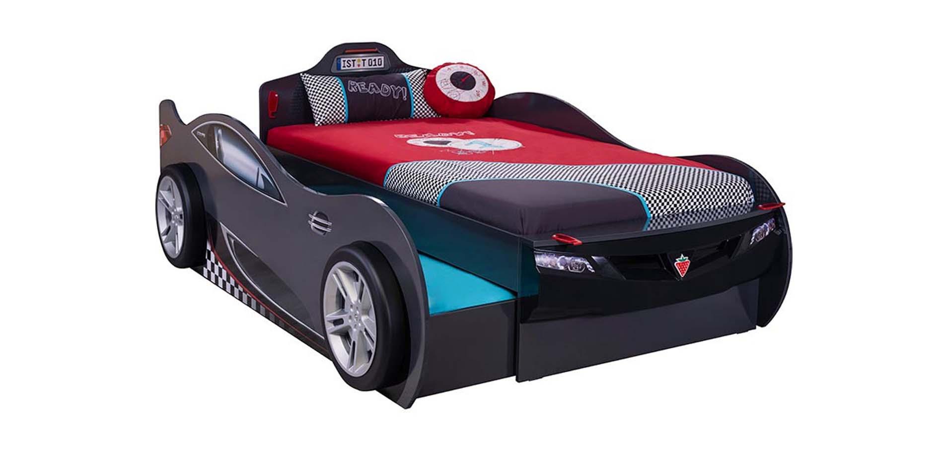 Kids Car Bed Gt 1313 Epiplo Fwtistiko Mixalopoylos