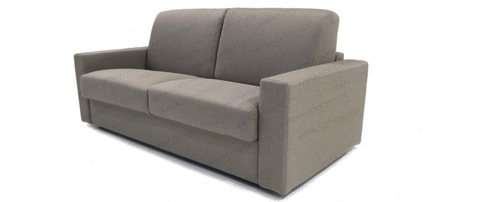 Καναπές κρεβάτι με στρώμα 140x190cm