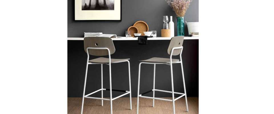 FORUM Bar Stool της εταιρείας Connubia Calligaris
