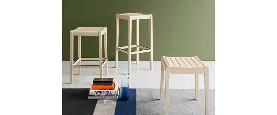 Party Bar Stool της εταιρείας Connubia Calligaris
