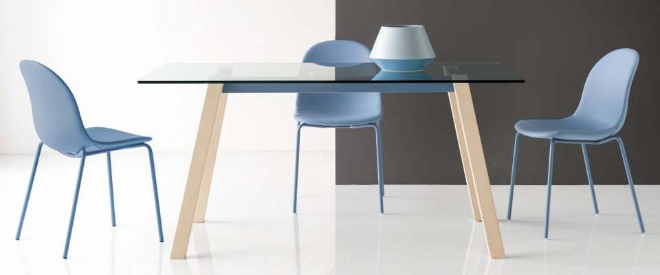 T-TABLE τραπέζι της εταιρείας Connubia Calligaris