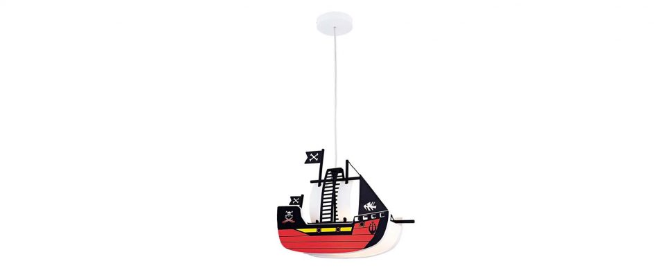 Children's light pirate boat