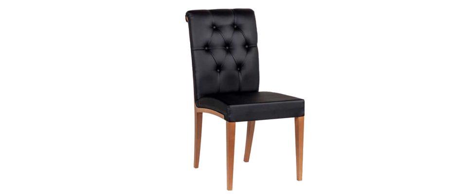 Καρέκλα τραπεζαρίας με ψηλή πλάτη