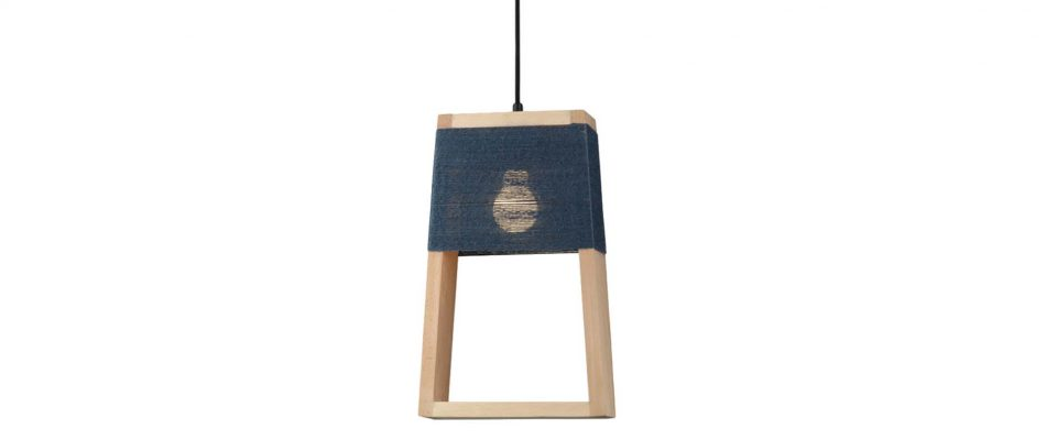 Pendant single lamp luminaire