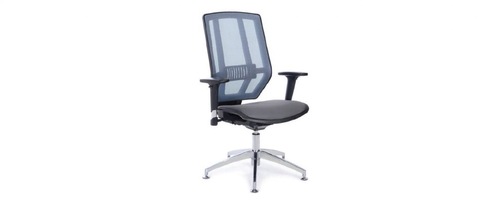 Visitor chair HYBRID MESH V