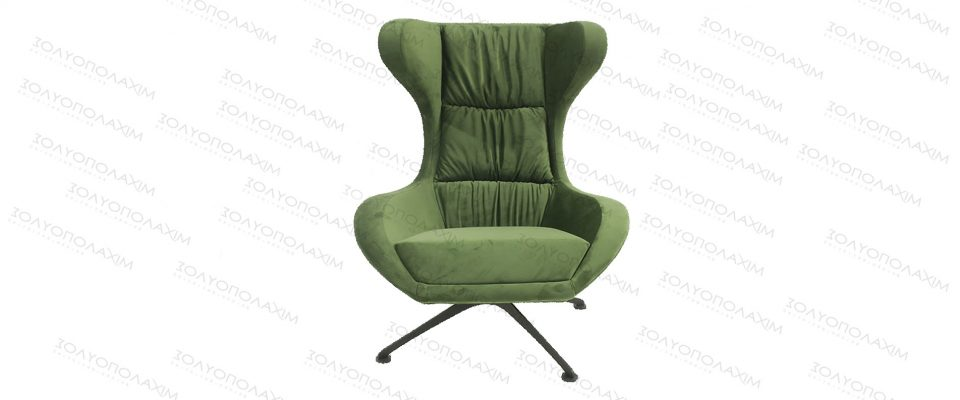 Reclining armchair with stool