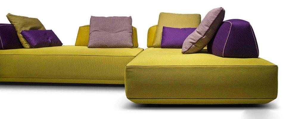 Μοντέρνος γωνιακός καναπές